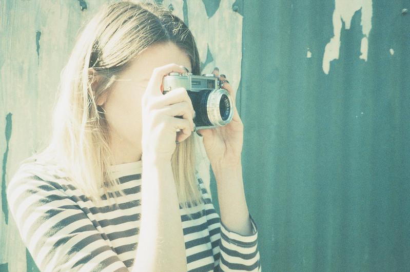 girl + camera