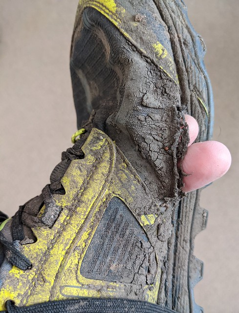 Photo:Altra Trail Running Shoes Dead at 350km By Pyrolytic Carbon