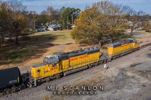 UP 1690 | EMD SD40N | UP Helena Subdivision