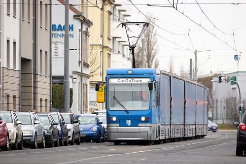 CarGoTram, Dresden