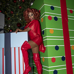 Honey in Santa Monica and Grove Xmas-347