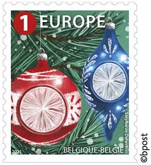 20b Timbre de Noël Europe©