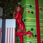 Honey in Santa Monica and Grove Xmas-340
