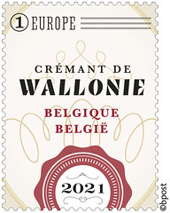 17 Wijnblad timbre E©