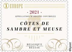 17 Wijnblad timbre D©