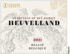 17 Wijnblad timbre B©