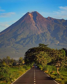 Mount Merapi Semarang, Central Java, Indonesia.