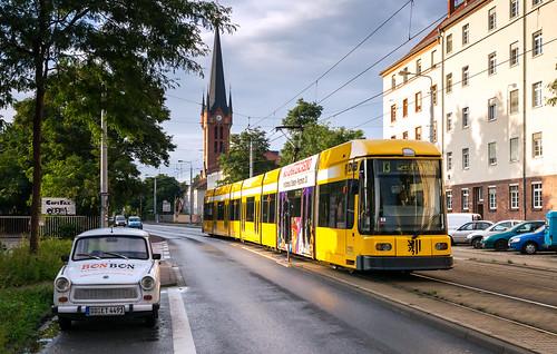 Dresden tramway: NGT8DD # 2709