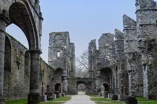 Abbey of Villers la Ville, FOLON sculptures