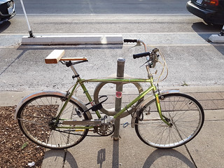 Bicycle Bench