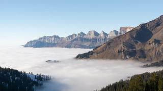 Magic landscape, Switzerland