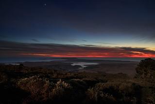 Drakes Estero and Point Reyes - Nautical Twilight