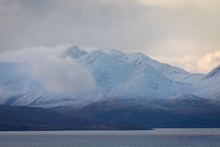 First Snow on the Cuillin