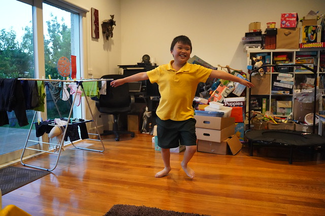 Photo:Happy Isaac spinning in the lounge By avlxyz