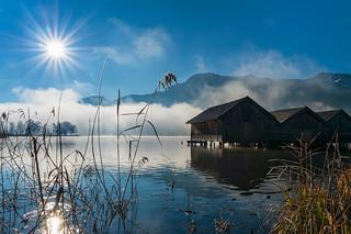 A cold morning at the lake