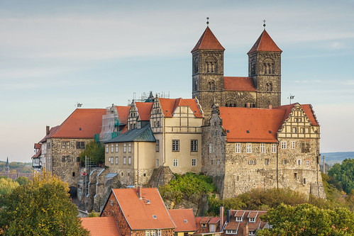 Quedlinburg castle