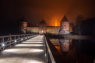 Castle of Trakai Island