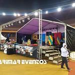 carpa cubierta escenario