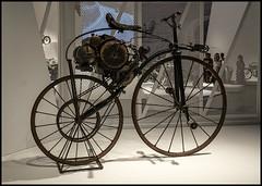 Motor Bike at WorldMotorCycle Exhibition GOMA Brisbane