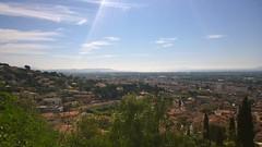 La baie de Hyères vue de la Villa Noailles