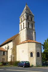 3499 Eglise Saint-Gervais et Saint-Protais de Civaux - Photo of Gouex