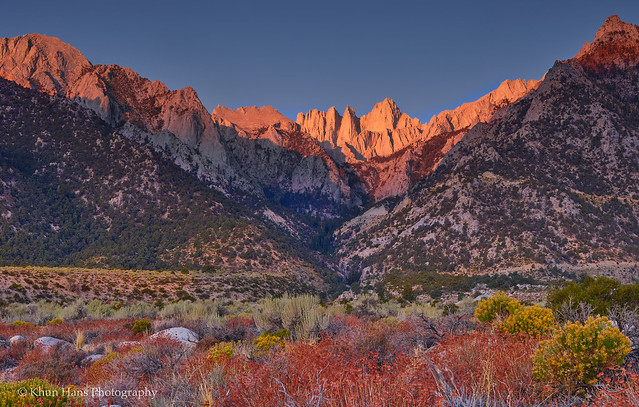 Photo:US, California, Eastern Sierra, near Lone Pine 1 By Khun Hans Outdoor Photography