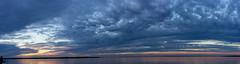 Cedar Creek Lake Sunset Pano