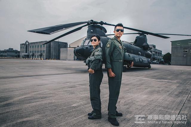 CH-47首位女飛官陳彥蓁