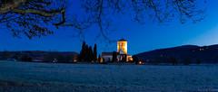 L'aurore sur Saint Just de Valcabère