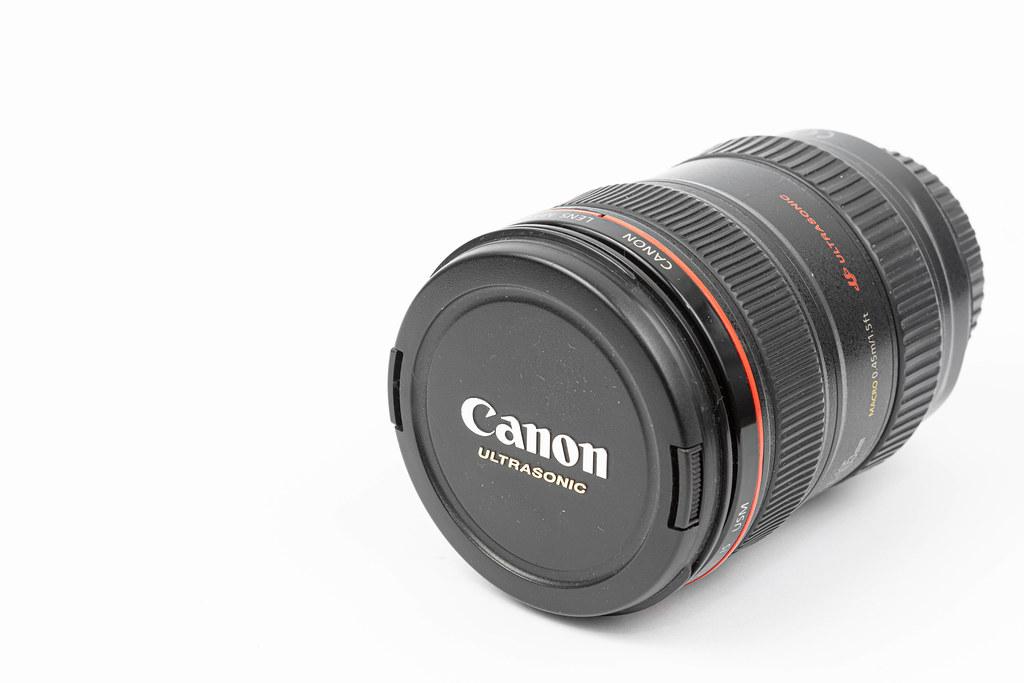 Canon L Lens with 24-105 milimeters range