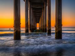 La Jolla Scripps Pier Southern California Fine Art Fuji GFX100 Landscape Photography! Ocean Art Seascape!  Elliot McGucken Master Medium Format Landscape Nature Photography Fuji GFX 100 & FUJINON  FUJIFILM GF 32-64mm f/4 R LM WR Lens!