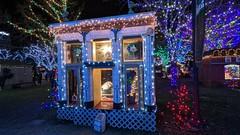 ogden, Utah Christmas village