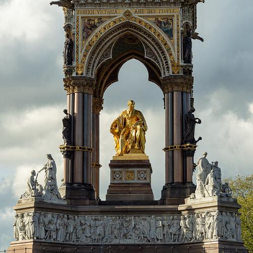 The Albert Memorial Statue - Hyde Park, London