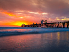 Oceanside Pier Southern California Fine Art Fuji GFX100 Landscape Photography! Ocean Art Seascape San Diego Pier Oceanside!  Elliot McGucken Master Medium Format Landscape Nature Photography Fuji GFX 100 & FUJINON  FUJIFILM GF LM WR Lens