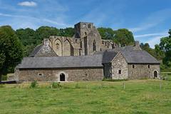 Manche - Abbaye de Hambye