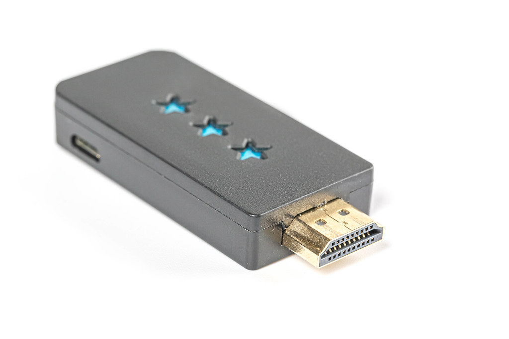 HDMI device for eight-bit game