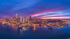 San Francisco Burning Sky