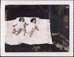 Vilma and Carol, 1963