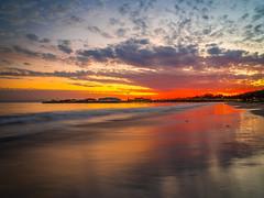 Santa Barbara Wharf Pier Red Orange Yellow Clouds Beautiful Sunset Southern California Fine Art Fuji GFX100 Landscape Photography! Ocean Art Seascape Orange County! Elliot McGucken Master Medium Format Landscape Nature Photography Fuji GFX 100 & FUJINON F