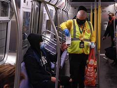 Mask Force Volunteers Distribute Masks in Brooklyn