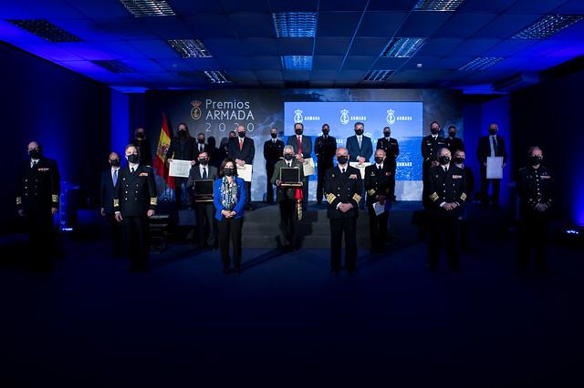 Photo:10/12/2020 Premios Armada Foto:Ricardo Pérez/MDE By Ministerio de Defensa