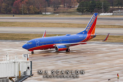 N247WN Southwest Airlines | Boeing 737-7H4(WL) | Memphis International Airport