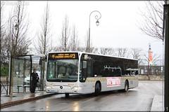 Mercedes-Benz Citaro – Véolia Transport – Établissement de Montesson les Rabaux / STIF (Syndicat des Transports d'Île-de-France) / Résalys n°1053