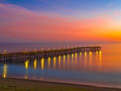 Ventura Pier Sunset Ventura Beach Castle Fuji GFX100 Fine Art Landscape Nature Photography California Seascape Ocean Art! Elliot McGucken Master Medium Format Nature Photographer Fuji GFX 100 & FUJIFILM FUJINON GF 32-64mm f/4 R LM WR Lens !