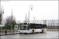 Mercedes-Benz Citaro – Véolia Transport – Établissement de Montesson les Rabaux / STIF (Syndicat des Transports d'Île-de-France) / Résalys n°1055