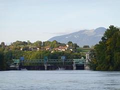 Barrage de Seyssel @ Rhône @ Seyssel (Ain)