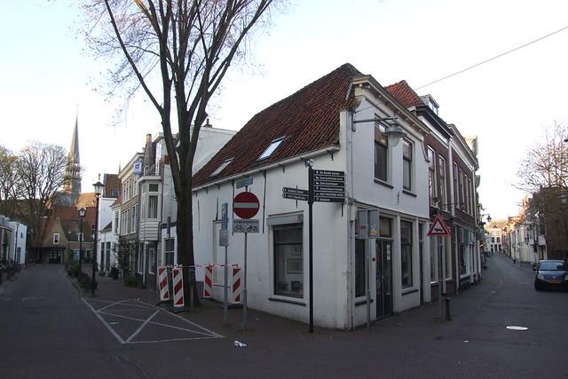 Photo:Crossing of Achter de Vismarkt and Lange Groenendaal, 17.04.2014. By Dāvis Kļaviņš