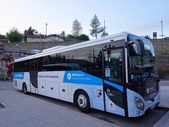 Bus LIHSA @ Gare routière @ Bellegarde-sur-Valserine