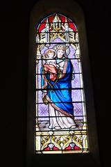 Vitrail @ Église Saint-François-de-Sales @ Seyssel (Ain)