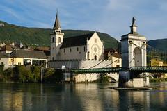 Pont de la Vierge Noire @ Rhône @ Seyssel (Ain)
